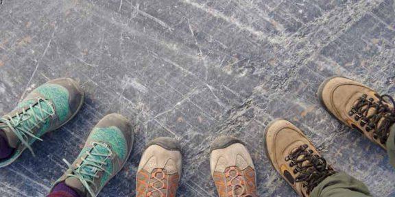 Forskellige sko